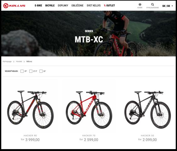 SCR technologies - kellys bikes