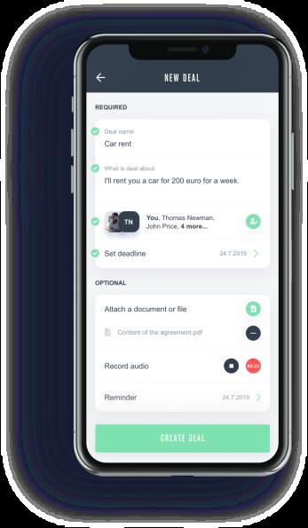 DealDone - mobilná aplikácia